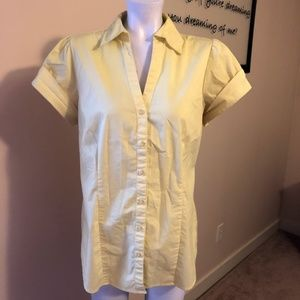 The Limited Women's Collared Button Down Shirt